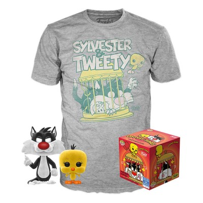 Pop! & Tees Sylvester and Tweety