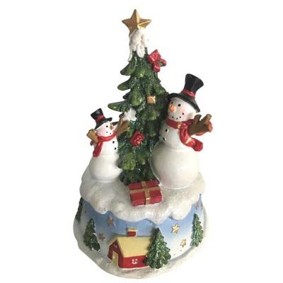 Χιονάνθρωποι στο χριστουγεννιάτικο δέντρο