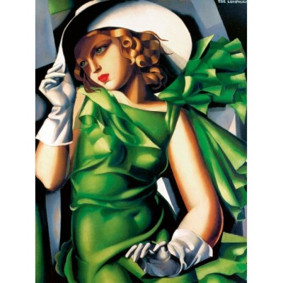 Lady in Green, Tamara Lempicka, 1500 κομμάτια