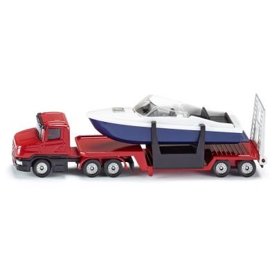 Φορτηγό με Βάρκα