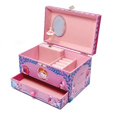 Μουσικό Κουτί Μπιζουτιέρα με Συρτάρι 'Chloe'