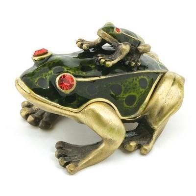 Μινιατούρα Βάτραχος με Βατραχάκι