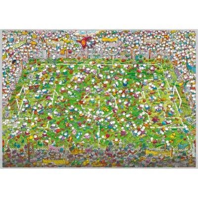 Crazy World Cup, Mordillo, 4000 κομμάτια, Heye
