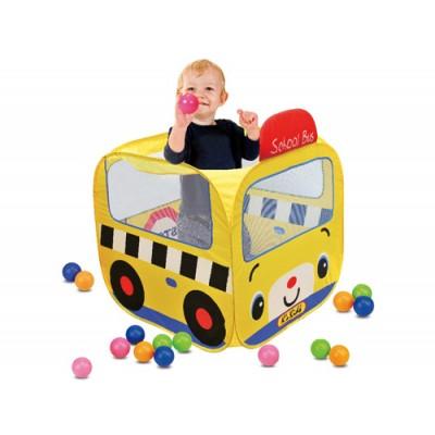 Σκηνή Σχολικό Λεωφορείο με Μπάλες, K's kids