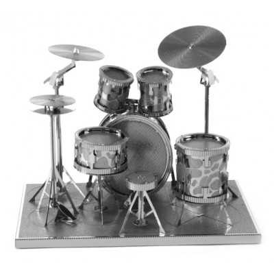Drum Set, Metal Earth
