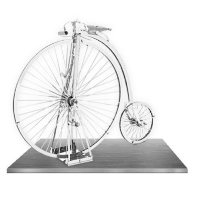Highwheel Bicycle, Metal Earth