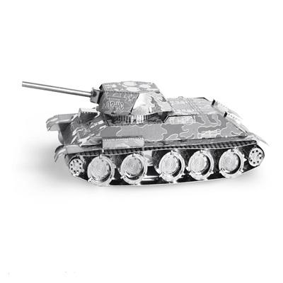 T - 34 Tank, Metal Earth