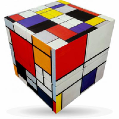 V-Cube 2 Mondrian
